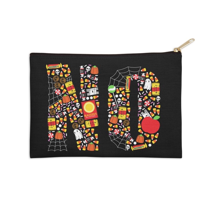 Unwanted Treats Accessories Zip Pouch by Daniel Stevens's Artist Shop