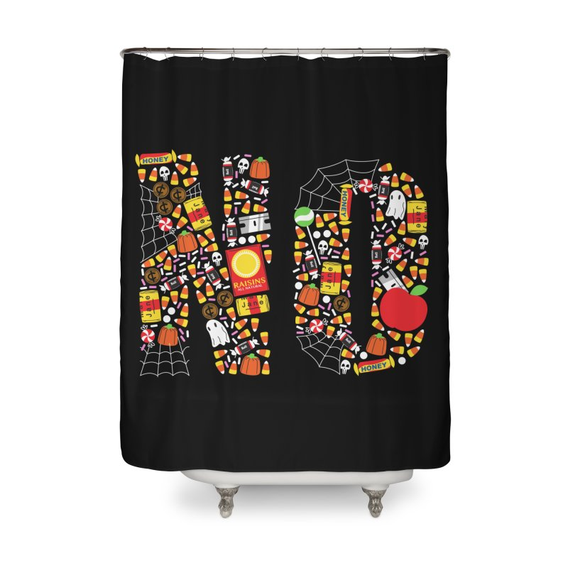 Unwanted Treats Home Shower Curtain by Daniel Stevens's Artist Shop