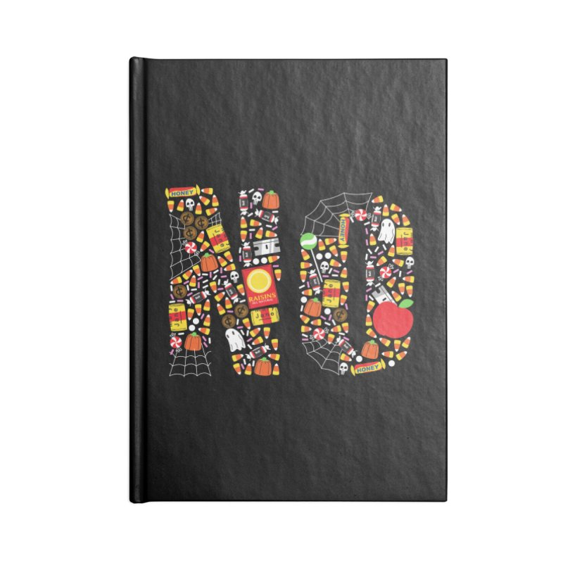 Unwanted Treats Accessories Blank Journal Notebook by Daniel Stevens's Artist Shop