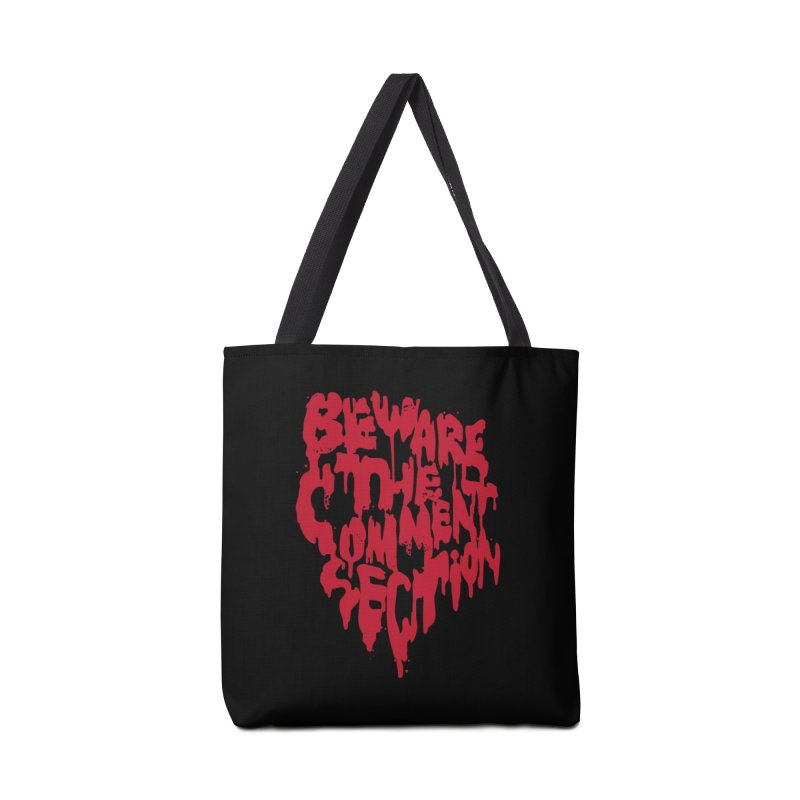 Beware the Comments Accessories Tote Bag Bag by Daniel Stevens's Artist Shop