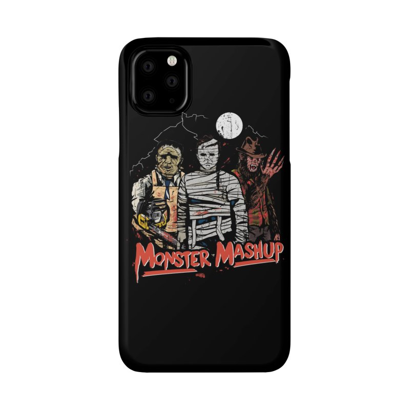 Monster Mashup Accessories Phone Case by Daniel Stevens's Artist Shop