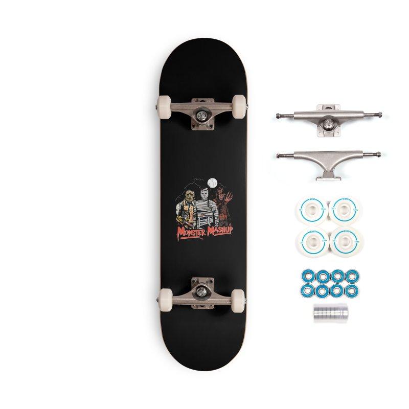 Monster Mashup Accessories Complete - Basic Skateboard by Daniel Stevens's Artist Shop