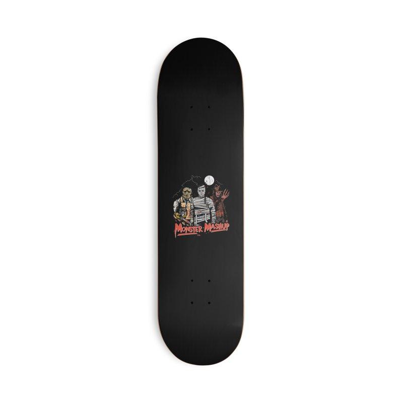 Monster Mashup Accessories Deck Only Skateboard by Daniel Stevens's Artist Shop