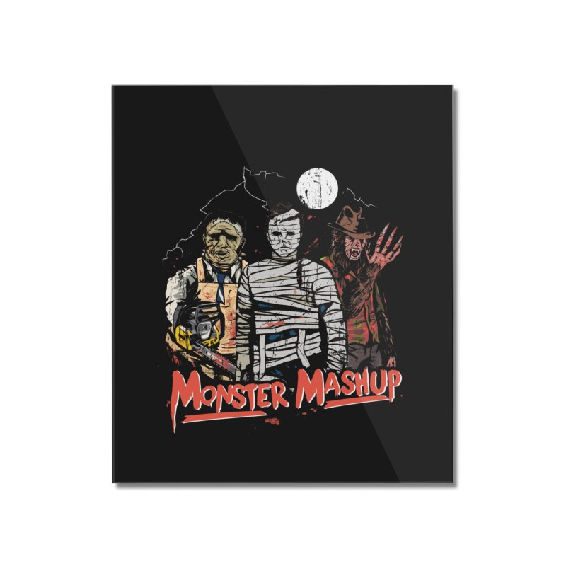 Monster Mashup Home Mounted Acrylic Print by Daniel Stevens's Artist Shop