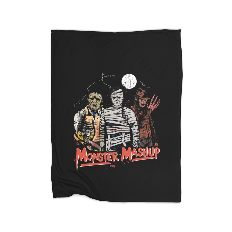 Monster Mashup Home Blanket by Daniel Stevens's Artist Shop