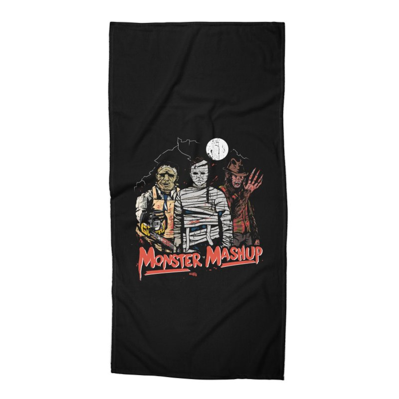 Monster Mashup Accessories Beach Towel by Daniel Stevens's Artist Shop