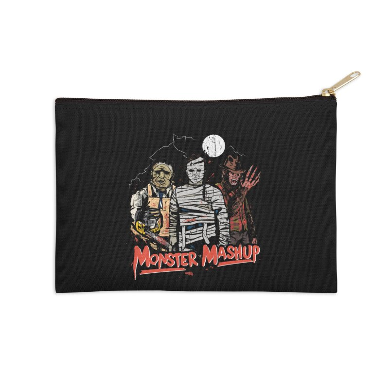 Monster Mashup Accessories Zip Pouch by Daniel Stevens's Artist Shop