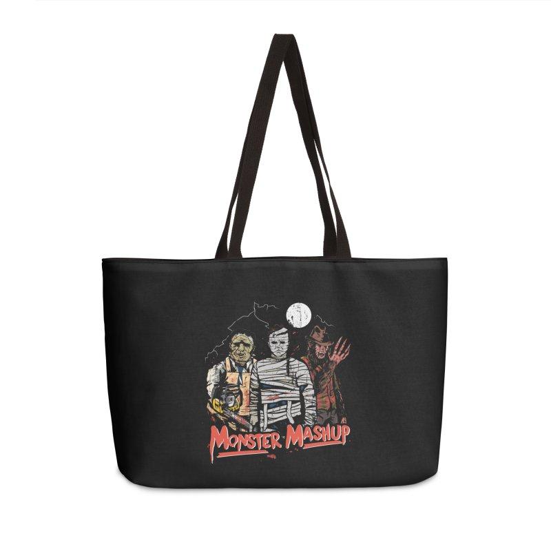 Monster Mashup Accessories Weekender Bag Bag by Daniel Stevens's Artist Shop