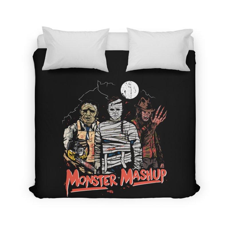 Monster Mashup Home Duvet by Daniel Stevens's Artist Shop