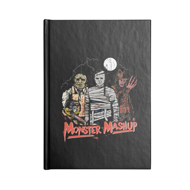 Monster Mashup Accessories Blank Journal Notebook by Daniel Stevens's Artist Shop
