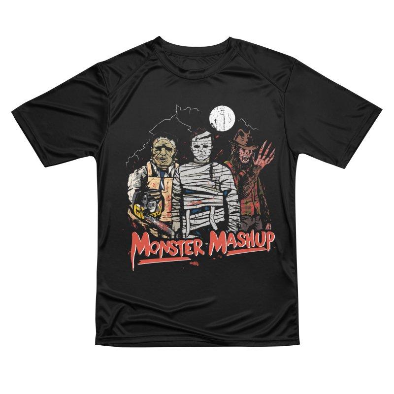 Monster Mashup Women's Performance Unisex T-Shirt by Daniel Stevens's Artist Shop