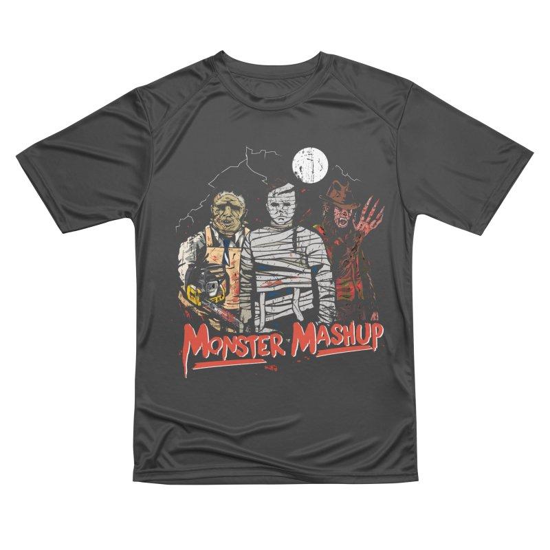 Monster Mashup Men's Performance T-Shirt by Daniel Stevens's Artist Shop