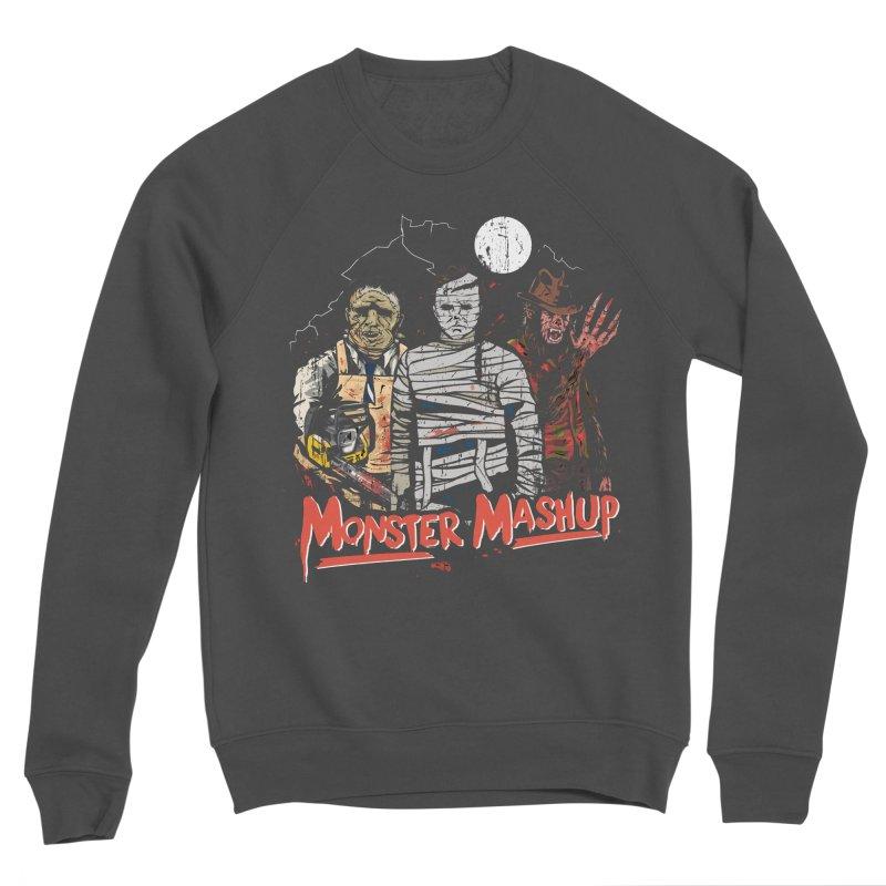 Monster Mashup Women's Sponge Fleece Sweatshirt by Daniel Stevens's Artist Shop