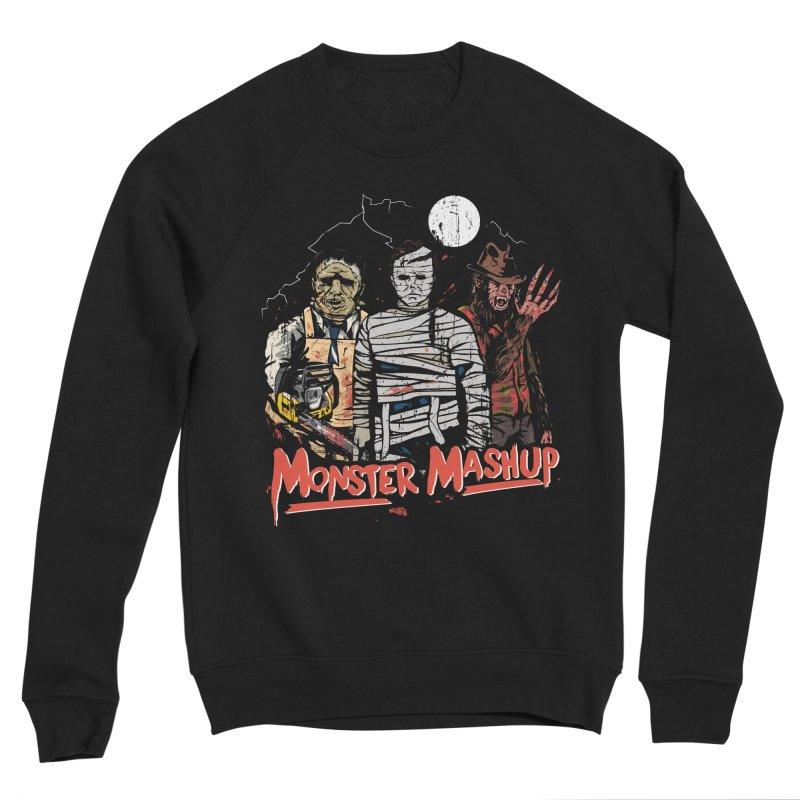 Monster Mashup Men's Sponge Fleece Sweatshirt by Daniel Stevens's Artist Shop