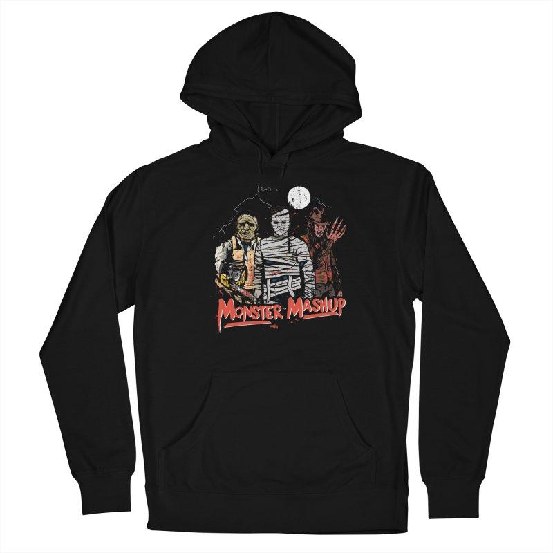 Monster Mashup Men's Pullover Hoody by Daniel Stevens's Artist Shop