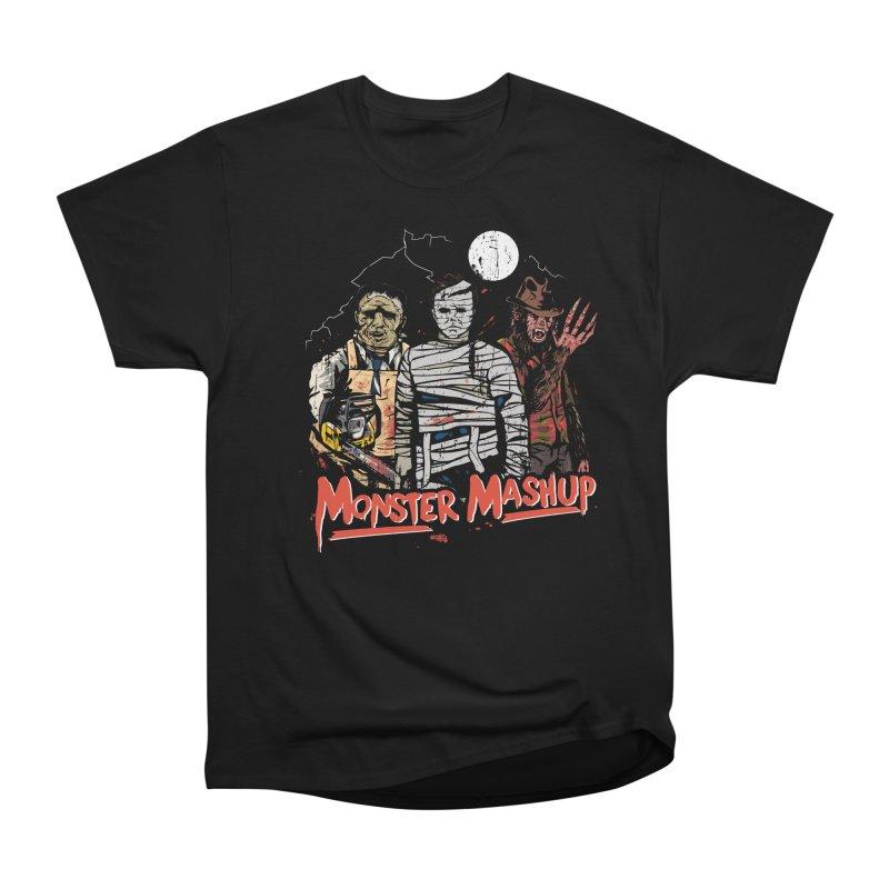 Monster Mashup Women's Heavyweight Unisex T-Shirt by Daniel Stevens's Artist Shop