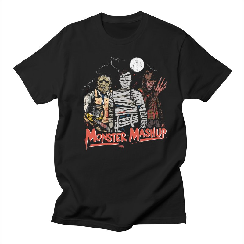 Monster Mashup Men's T-Shirt by Daniel Stevens's Artist Shop