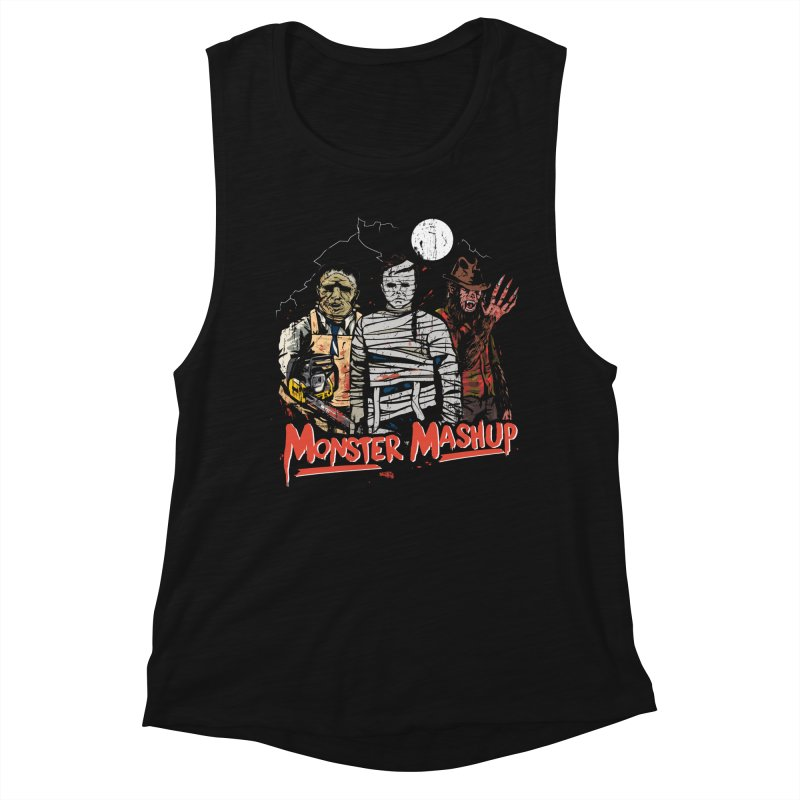 Monster Mashup Women's Tank by Daniel Stevens's Artist Shop