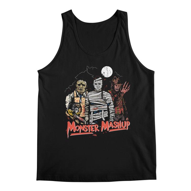 Monster Mashup Men's Regular Tank by Daniel Stevens's Artist Shop