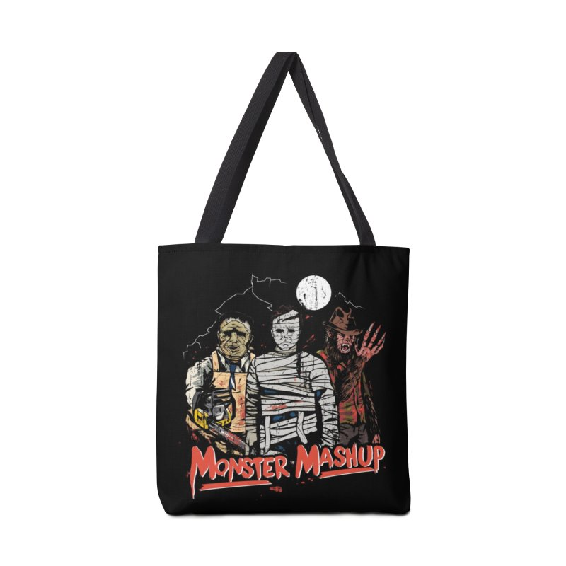 Monster Mashup Accessories Tote Bag Bag by Daniel Stevens's Artist Shop