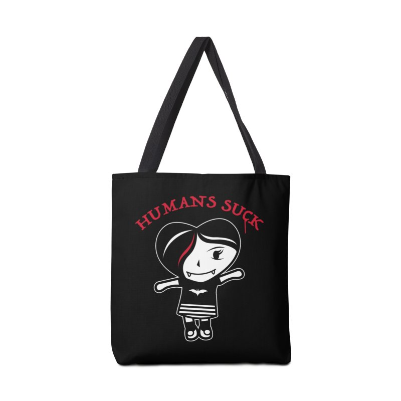 Humans Suck Accessories Tote Bag Bag by Daniel Stevens's Artist Shop