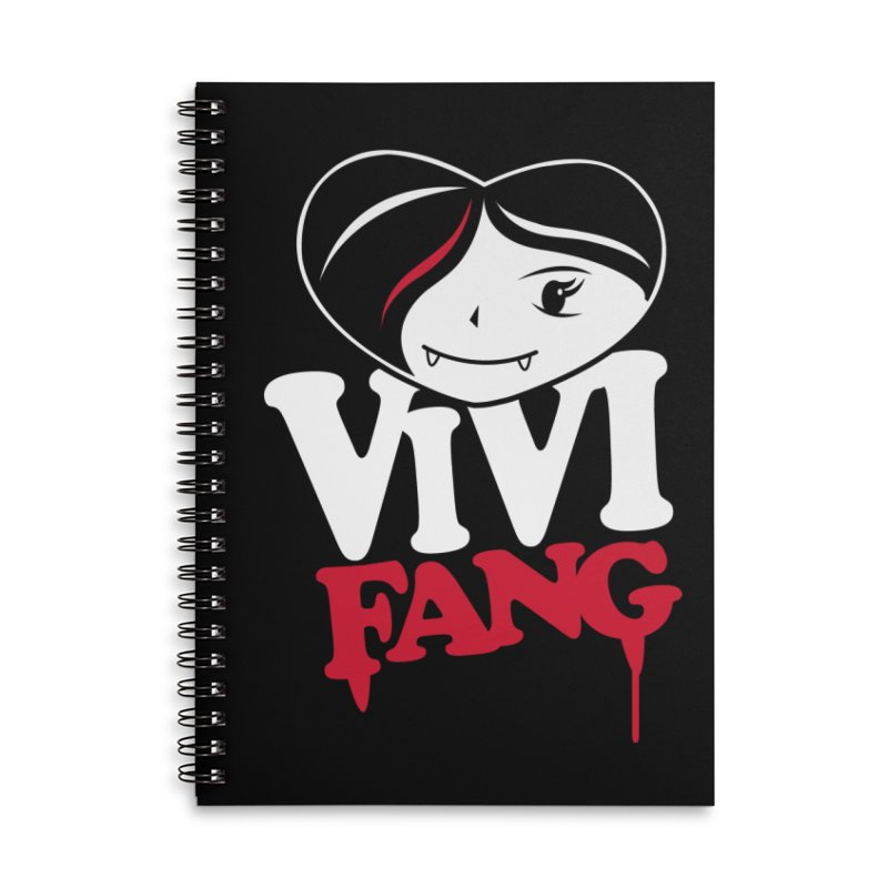 Vi Vi Fang Accessories Lined Spiral Notebook by Daniel Stevens's Artist Shop