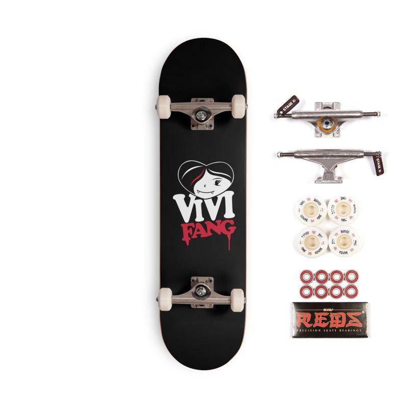 Vi Vi Fang Accessories Complete - Pro Skateboard by Daniel Stevens's Artist Shop