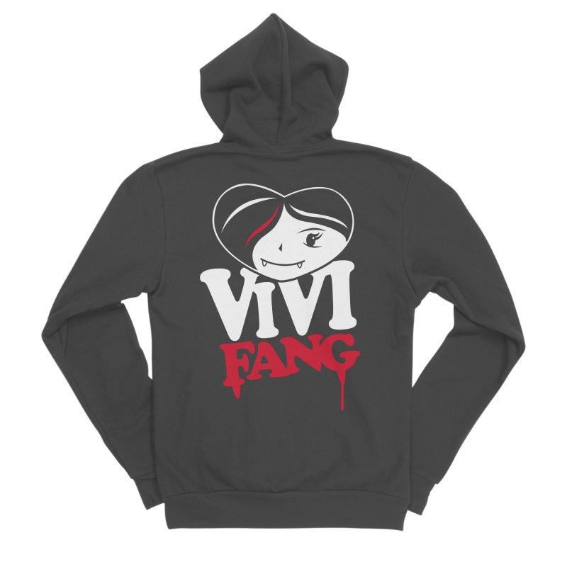 Vi Vi Fang Women's Sponge Fleece Zip-Up Hoody by Daniel Stevens's Artist Shop