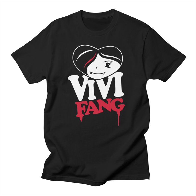 Vi Vi Fang in Women's Regular Unisex T-Shirt Black by Daniel Stevens's Artist Shop