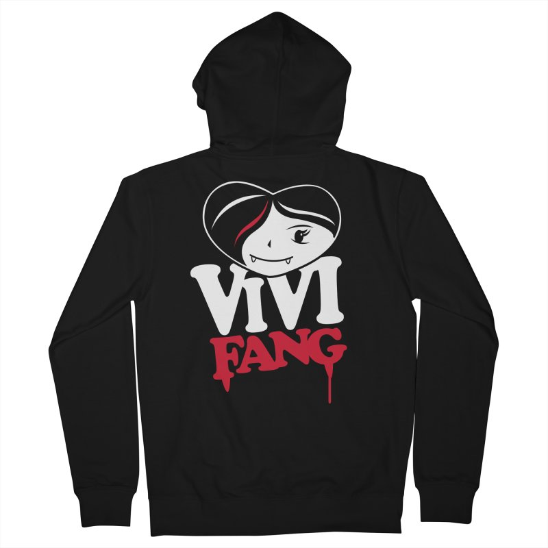 Vi Vi Fang Women's French Terry Zip-Up Hoody by Daniel Stevens's Artist Shop