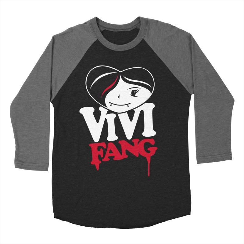 Vi Vi Fang Women's Baseball Triblend Longsleeve T-Shirt by Daniel Stevens's Artist Shop