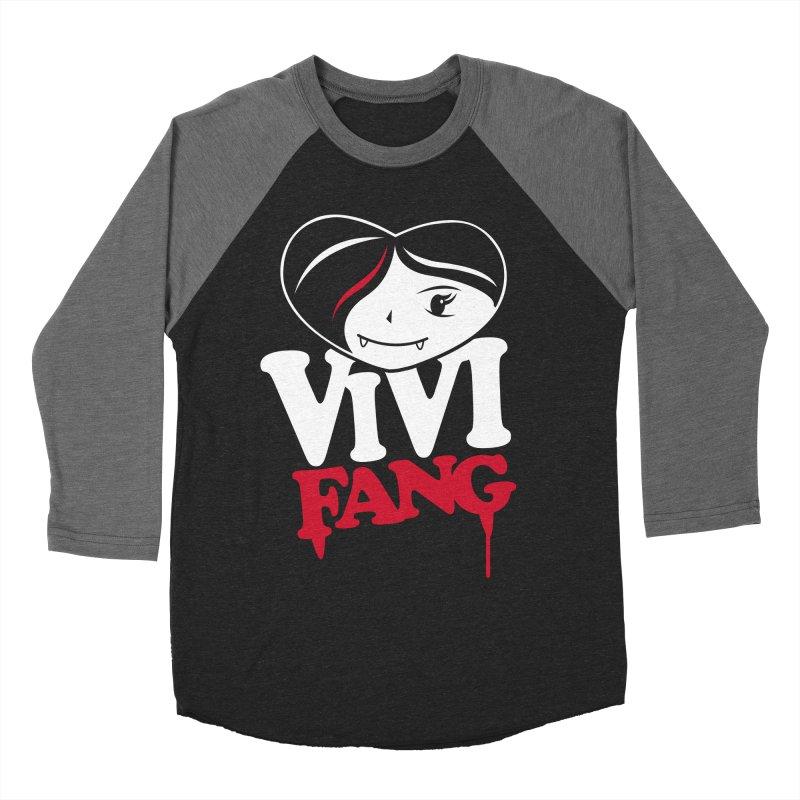 Vi Vi Fang Men's Baseball Triblend Longsleeve T-Shirt by Daniel Stevens's Artist Shop