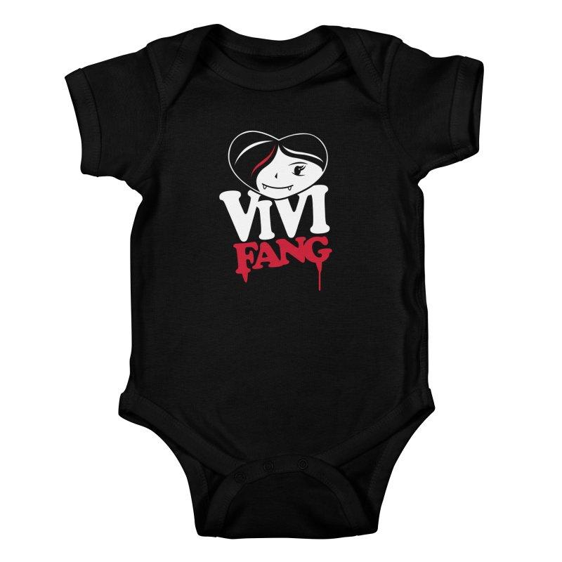 Vi Vi Fang Kids Baby Bodysuit by Daniel Stevens's Artist Shop