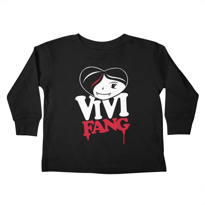 Vi Vi Fang Kids Toddler Longsleeve T-Shirt by Daniel Stevens's Artist Shop