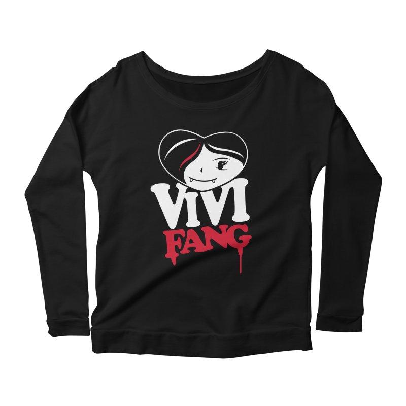 Vi Vi Fang Women's Scoop Neck Longsleeve T-Shirt by Daniel Stevens's Artist Shop