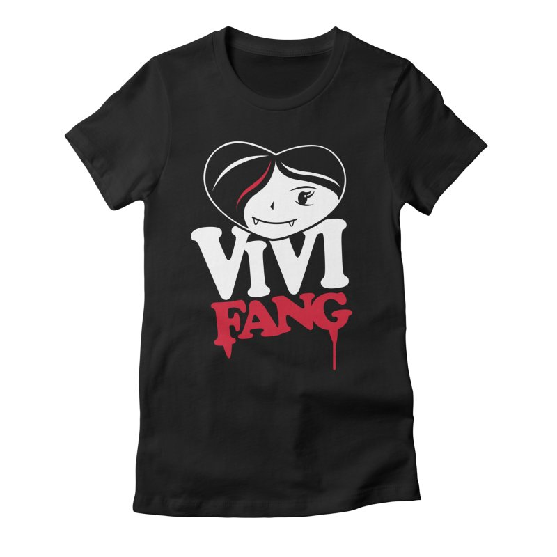 Vi Vi Fang Women's Fitted T-Shirt by Daniel Stevens's Artist Shop