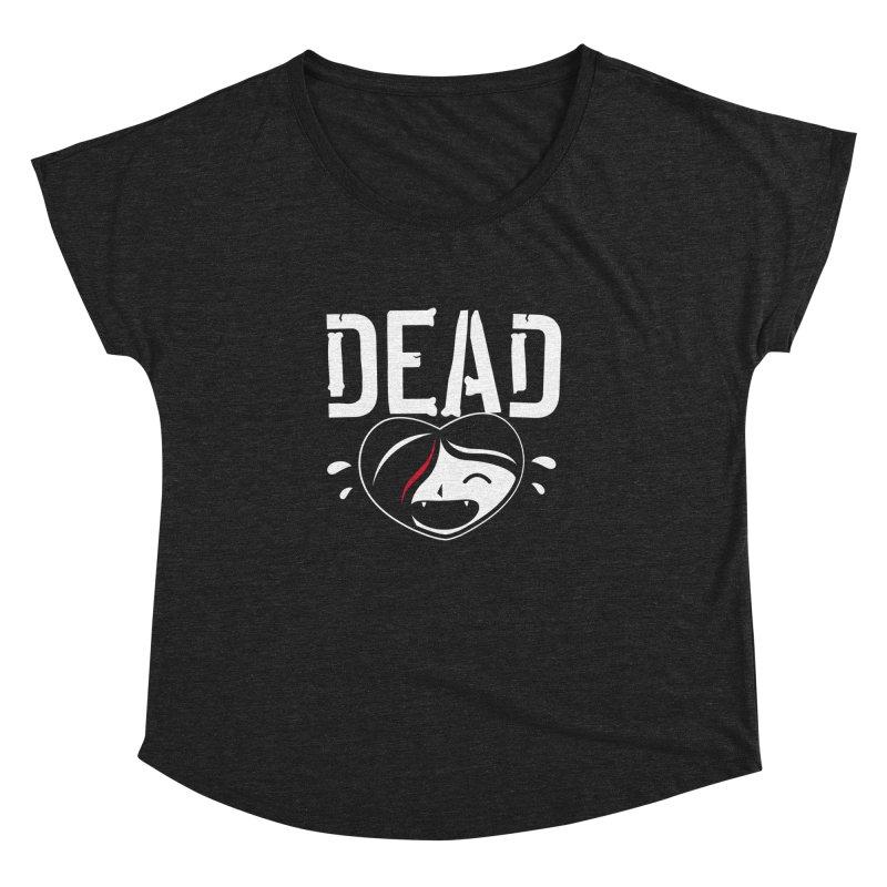 Dead Women's Dolman Scoop Neck by Daniel Stevens's Artist Shop