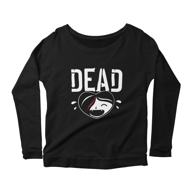 Dead Women's Scoop Neck Longsleeve T-Shirt by Daniel Stevens's Artist Shop