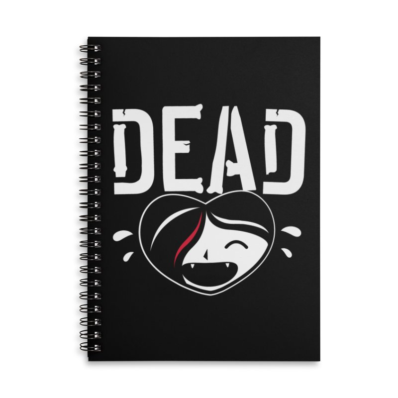 Dead Accessories Lined Spiral Notebook by Daniel Stevens's Artist Shop