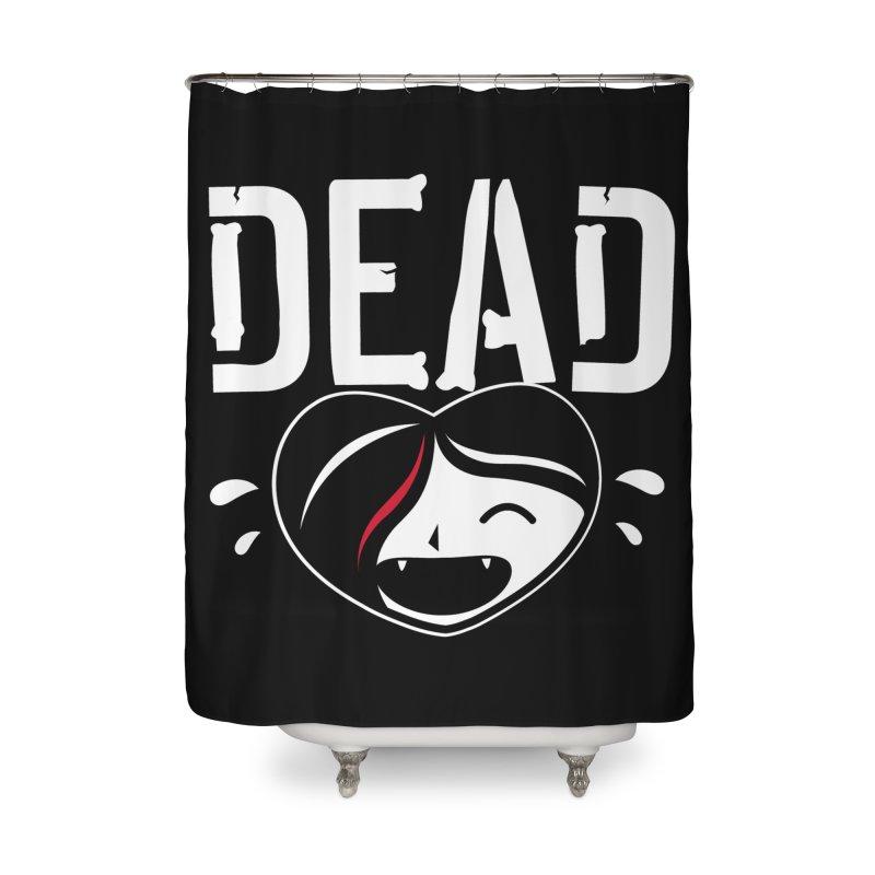 Dead Home Shower Curtain by Daniel Stevens's Artist Shop