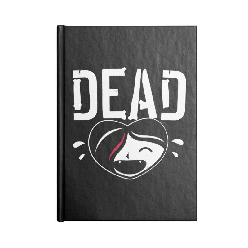 Dead Accessories Lined Journal Notebook by Daniel Stevens's Artist Shop
