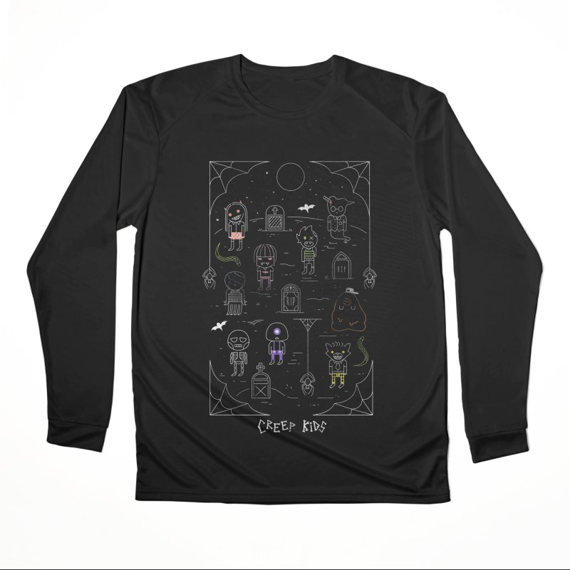 Creep Kids Women's Performance Unisex Longsleeve T-Shirt by Daniel Stevens's Artist Shop