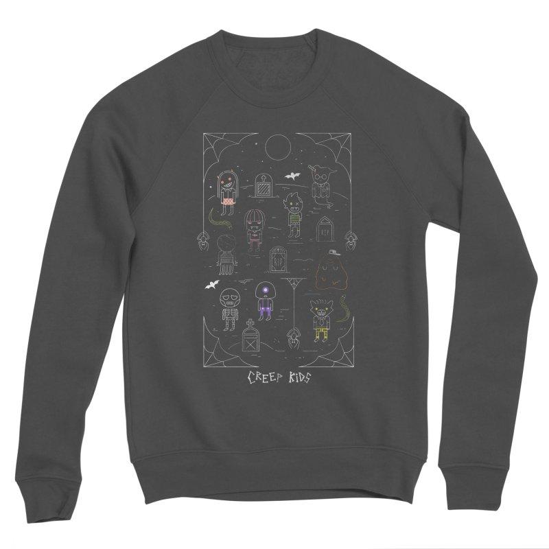 Creep Kids Men's Sponge Fleece Sweatshirt by Daniel Stevens's Artist Shop