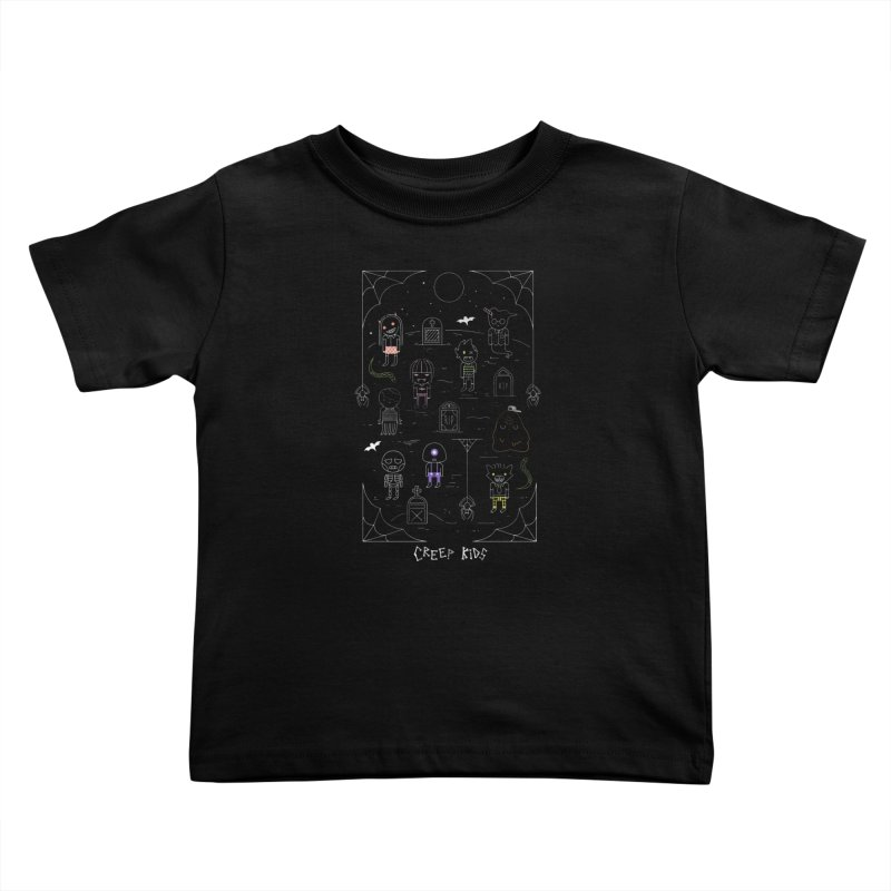 Creep Kids Kids Toddler T-Shirt by Daniel Stevens's Artist Shop