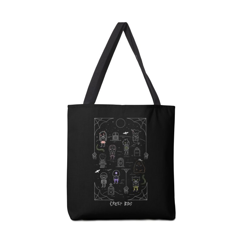 Creep Kids Accessories Tote Bag Bag by Daniel Stevens's Artist Shop