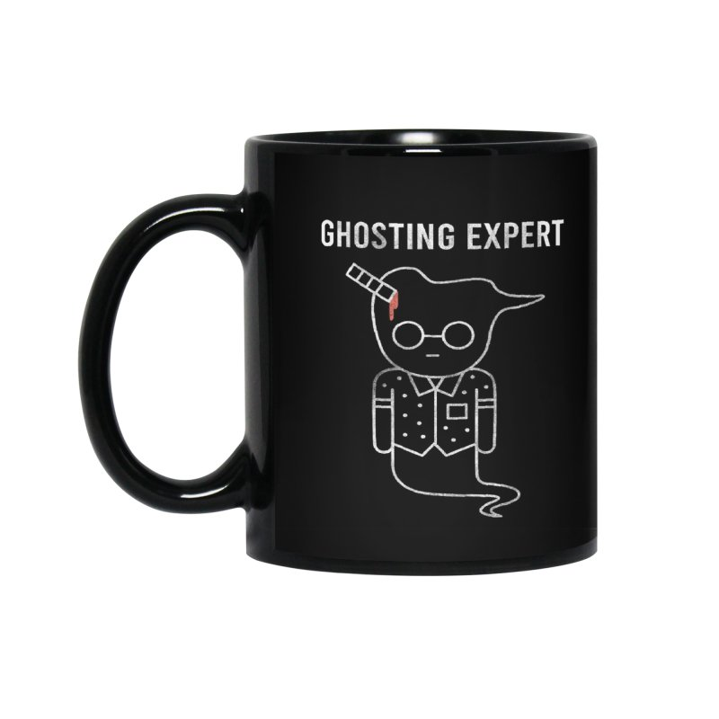 Ghosting Expert Accessories Standard Mug by Daniel Stevens's Artist Shop