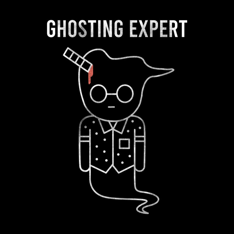 Ghosting Expert Women's Zip-Up Hoody by Daniel Stevens's Artist Shop