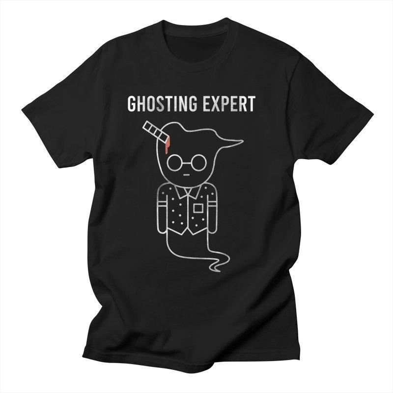 Ghosting Expert Men's T-Shirt by Daniel Stevens's Artist Shop