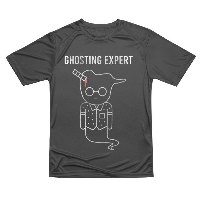 Ghosting Expert Women's Performance Unisex T-Shirt by Daniel Stevens's Artist Shop