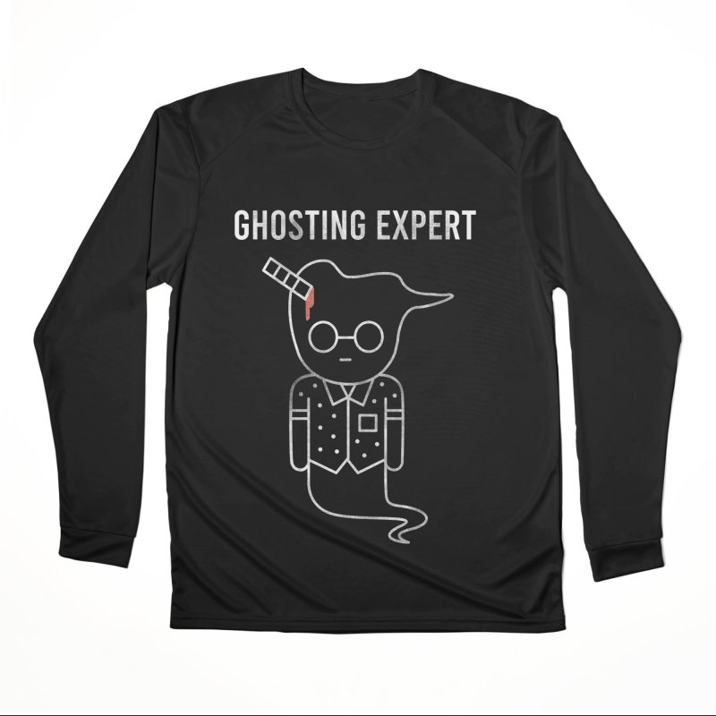 Ghosting Expert Men's Performance Longsleeve T-Shirt by Daniel Stevens's Artist Shop